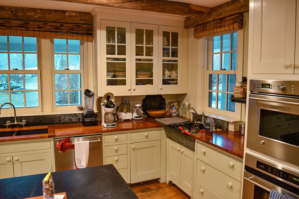 White Kitchen Cabinets With Brown Trim Kitchen Cabinets Painting & Interior Trim Painting | H.D.F. Painting