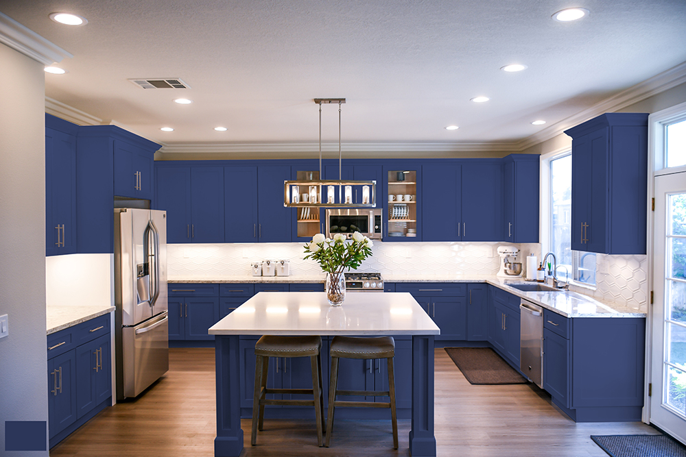 Easily Renew Your Kitchen With A Cabinet Refinish H D F Painting